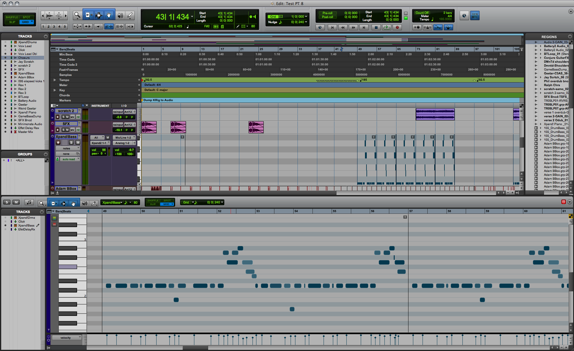 Pro Tools 8: The Test : The Return of the King? - Audiofanzine
