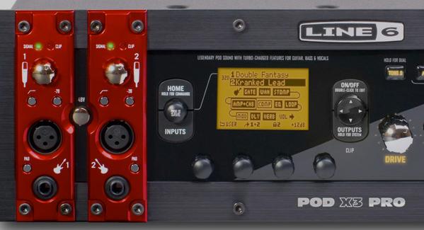 Line 6 POD X3 Pro: The Test : In POD We Trust? - Audiofanzine
