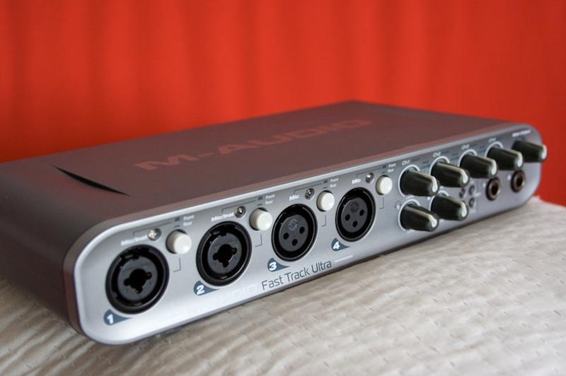 m audio 39 s fast track ultra the test ultra affordable audiofanzine. Black Bedroom Furniture Sets. Home Design Ideas