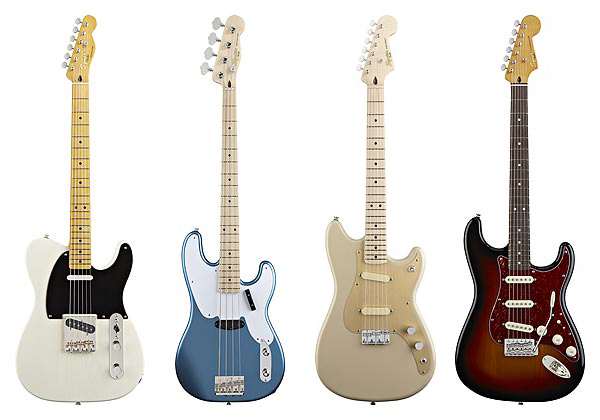 Squier Classic Vibe Series all 4